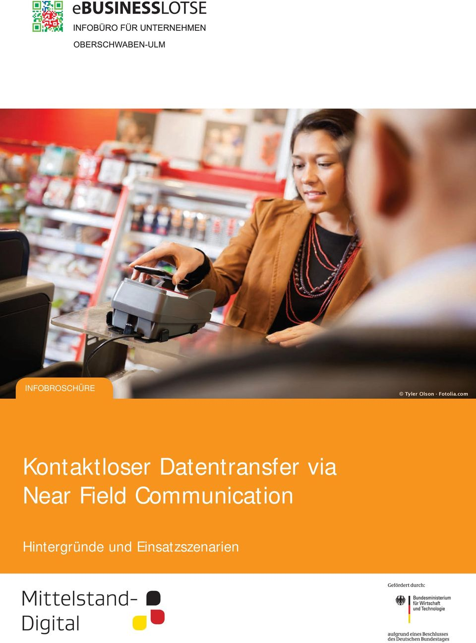 com Kontaktloser Datentransfer