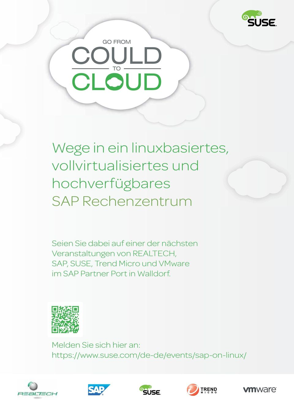REALTECH, SAP, SUSE, Trend Micro und VMware im SAP Partner Port in