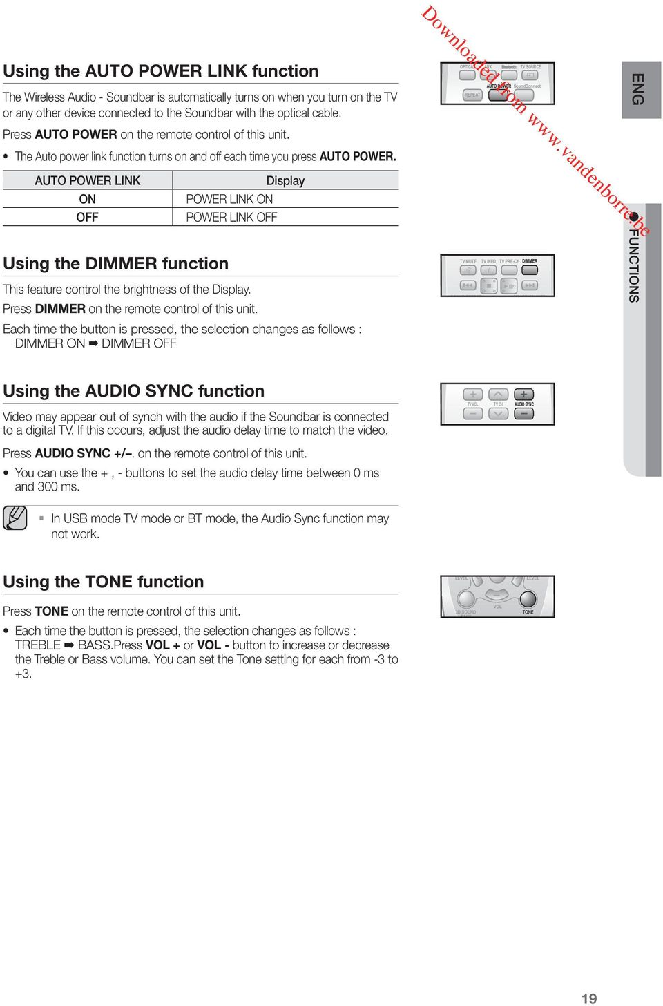 Wireless Audio - Soundbar (Active Speaker System) user manual - PDF