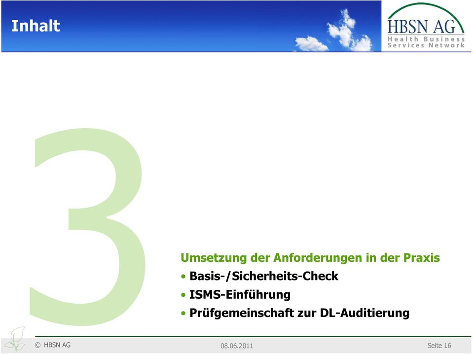 Basis-/Sicherheits-Check