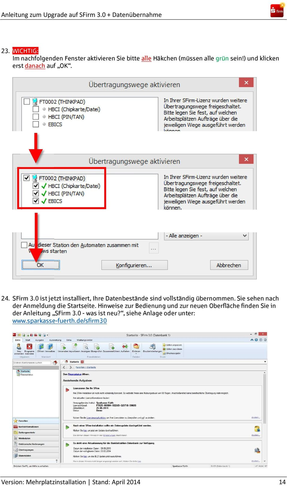 how to upgrade pdf version