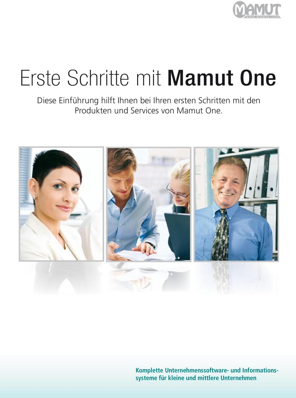 Services von Mamut One.