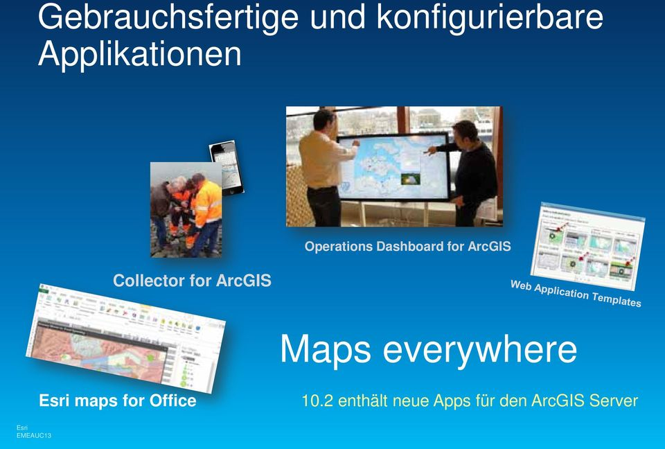 Operations Dashboard for ArcGIS Maps