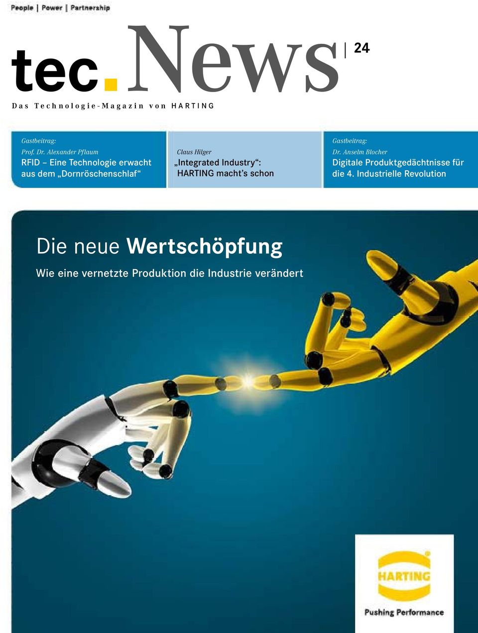 Integrated Industry : HARTING macht s schon Gastbeitrag: Dr.