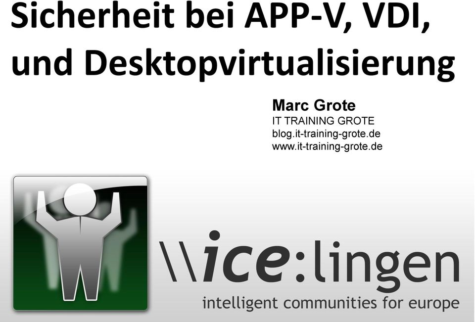 IT TRAINING GROTE blog.