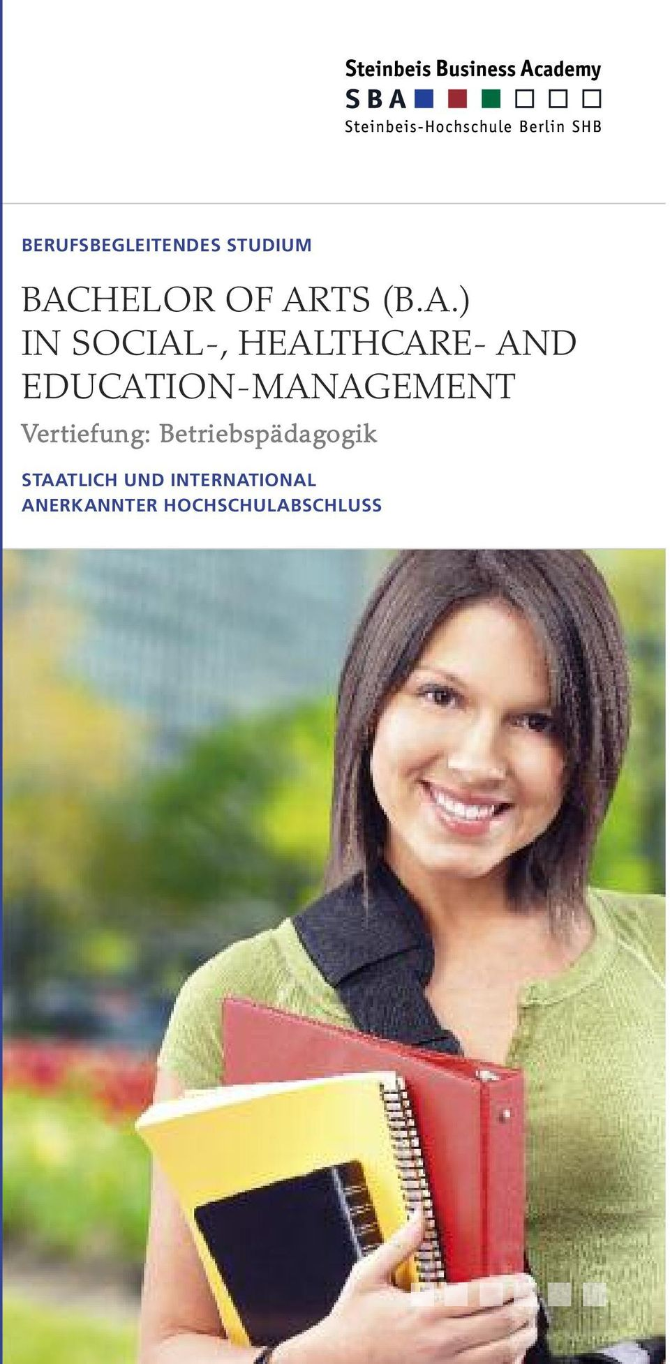 EDUCATION-MANAGEMENT Vertiefung: