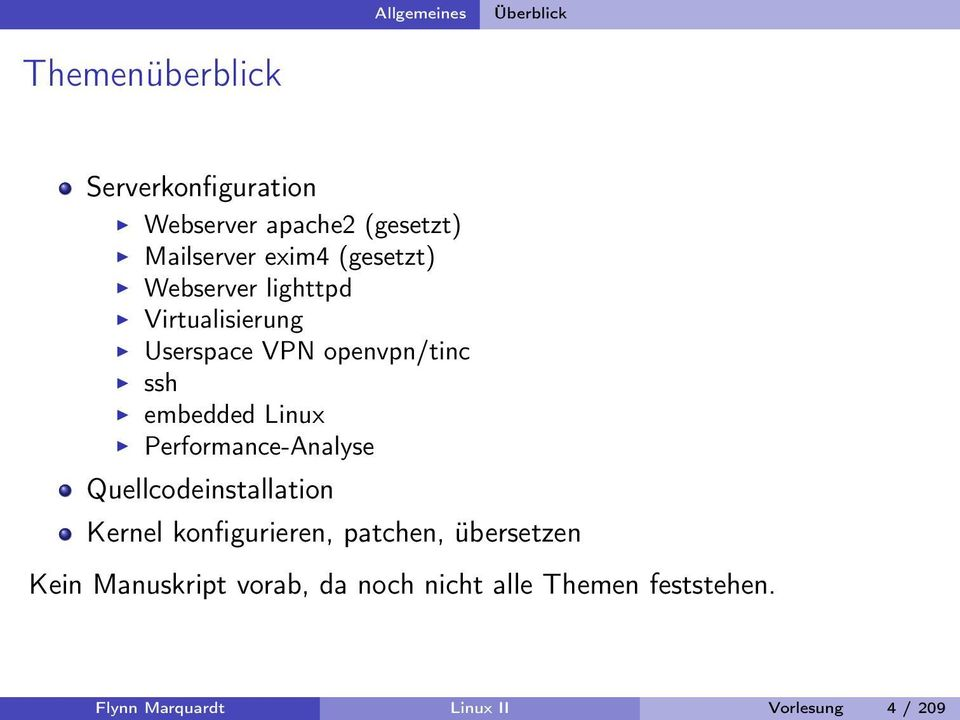 embedded Linux Performance-Analyse Quellcodeinstallation Kernel konfigurieren, patchen,
