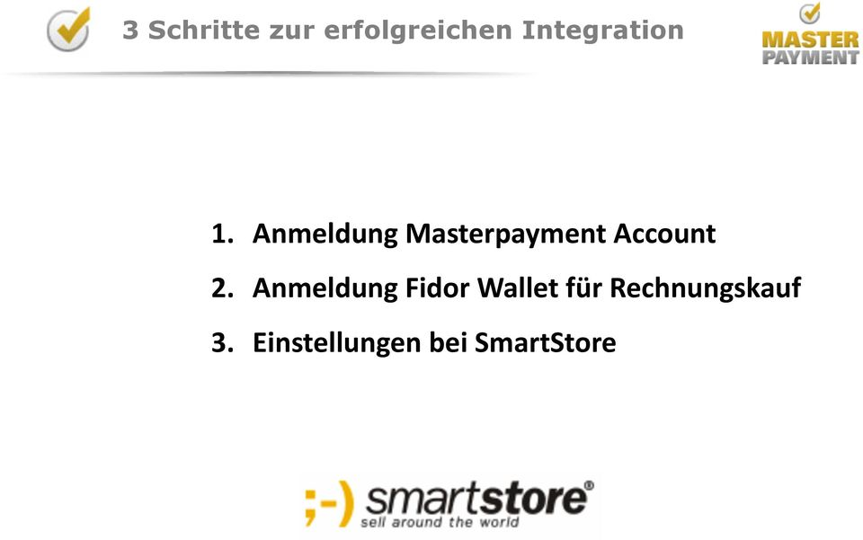 Anmeldung Masterpayment Account 2.