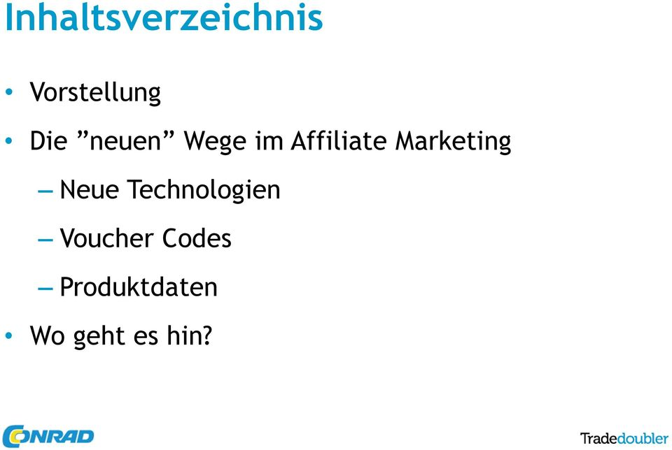 Marketing Neue Technologien