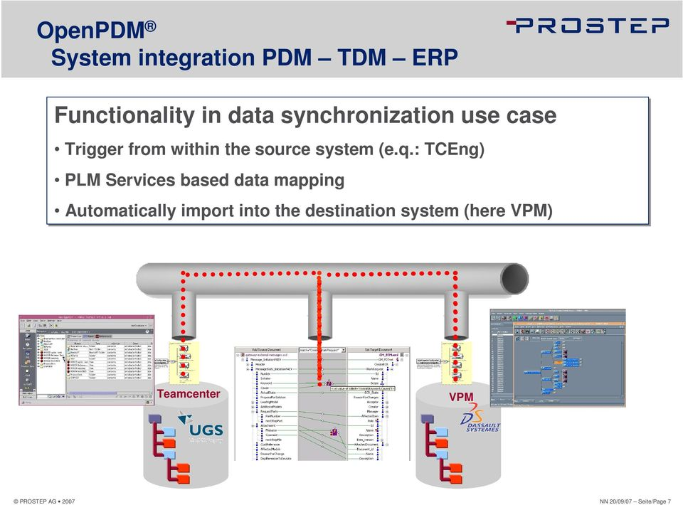 : TCEng) PLM Services based data mapping Automatically import into the