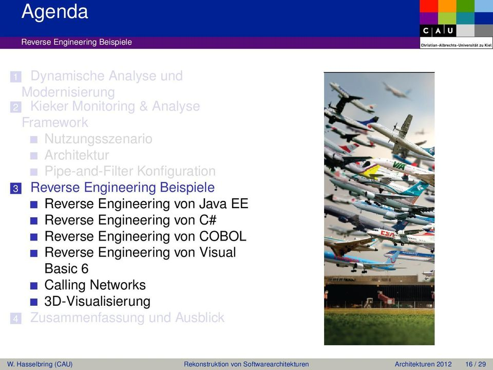 EE Reverse Engineering von C# Reverse Engineering von COBOL Reverse Engineering von Visual Basic 6 Calling Networks