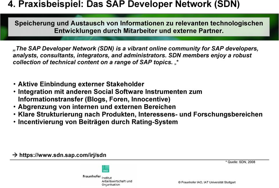 SDN members enjoy a robust collection of technical content on a range of SAP topics.