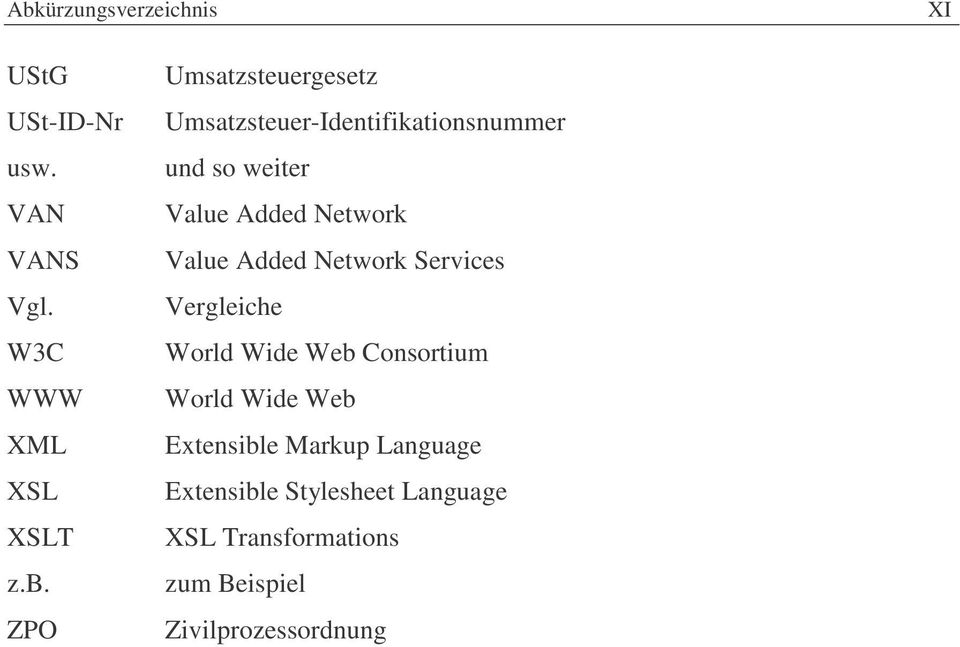 Value Added Network Services Vergleiche World Wide Web Consortium World Wide Web Extensible