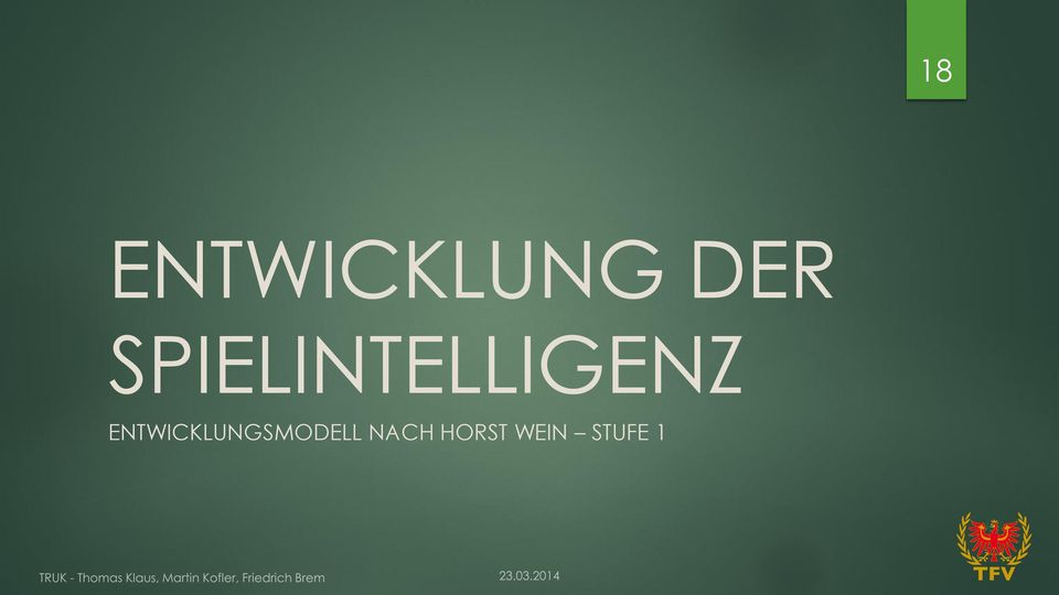 ENTWICKLUNGSMODELL