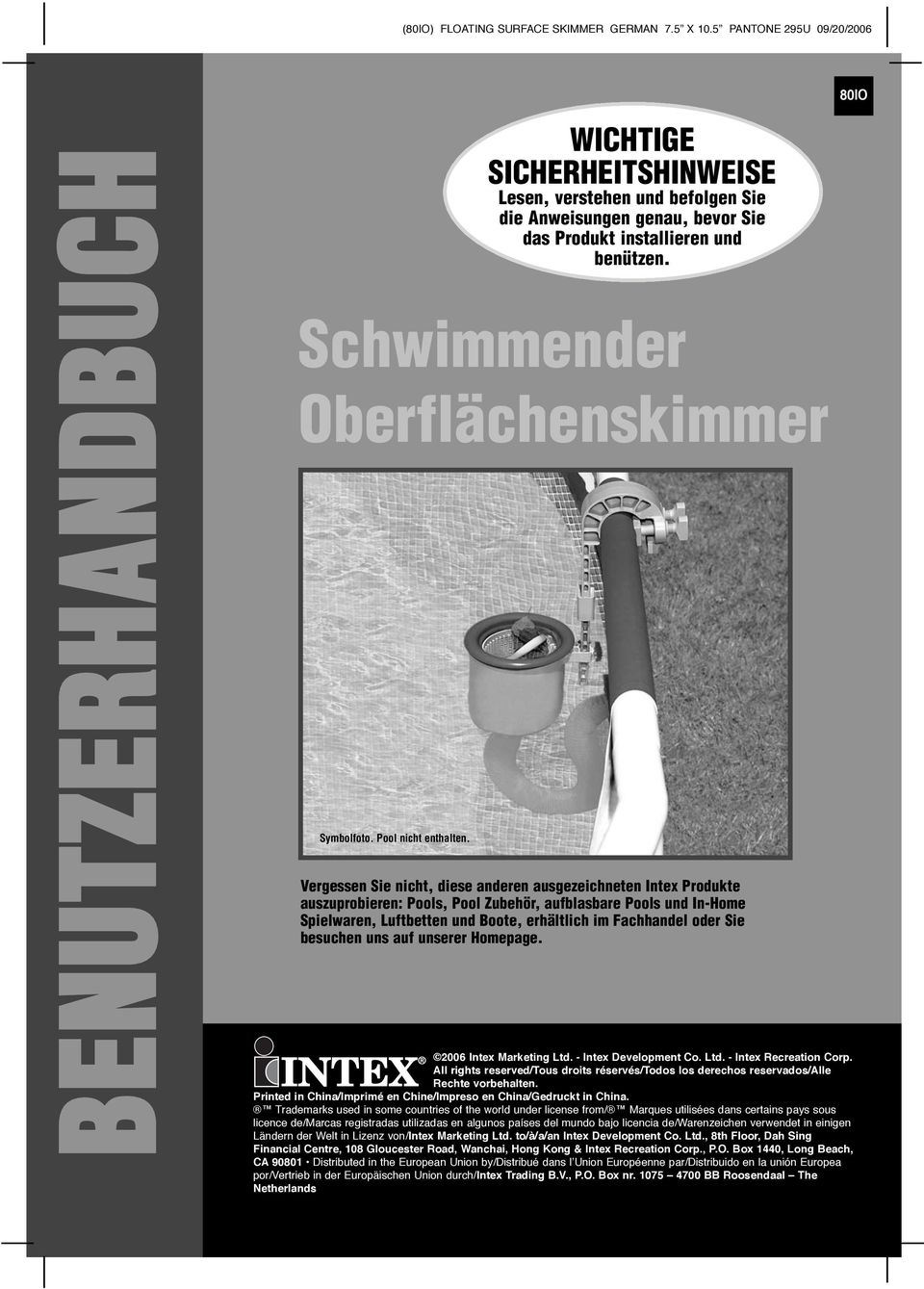 schwimmender oberfl chenskimmer pdf. Black Bedroom Furniture Sets. Home Design Ideas