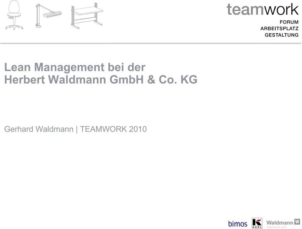 lean management bei der herbert waldmann gmbh co kg. Black Bedroom Furniture Sets. Home Design Ideas