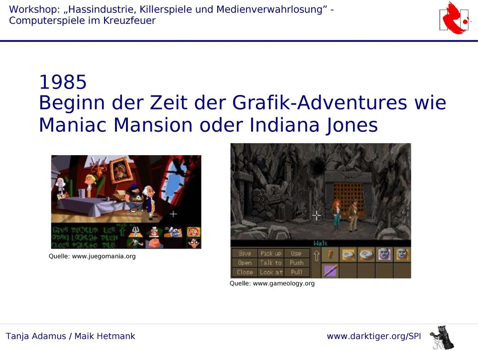 Mansion oder Indiana Jones