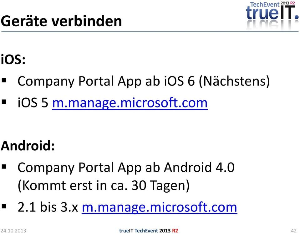 com Android: Company Portal App ab Android 4.