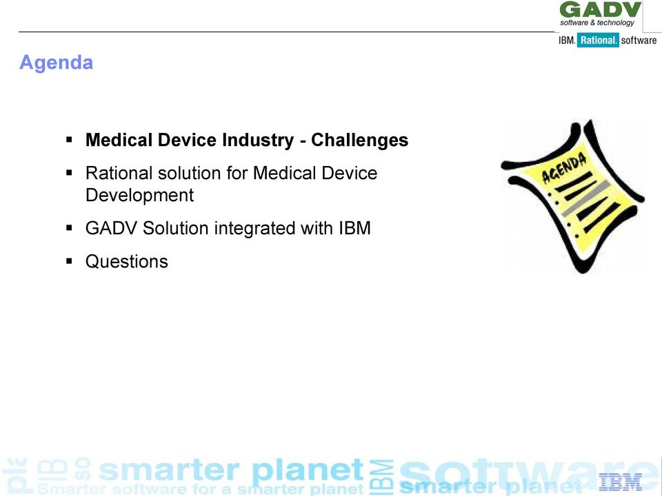Medical Device Development GADV