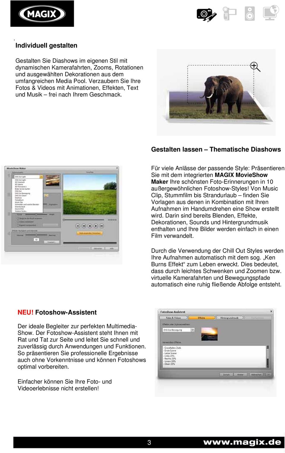 Fantastisch Nach Effekt Diashow Vorlage Bilder - Entry Level Resume ...