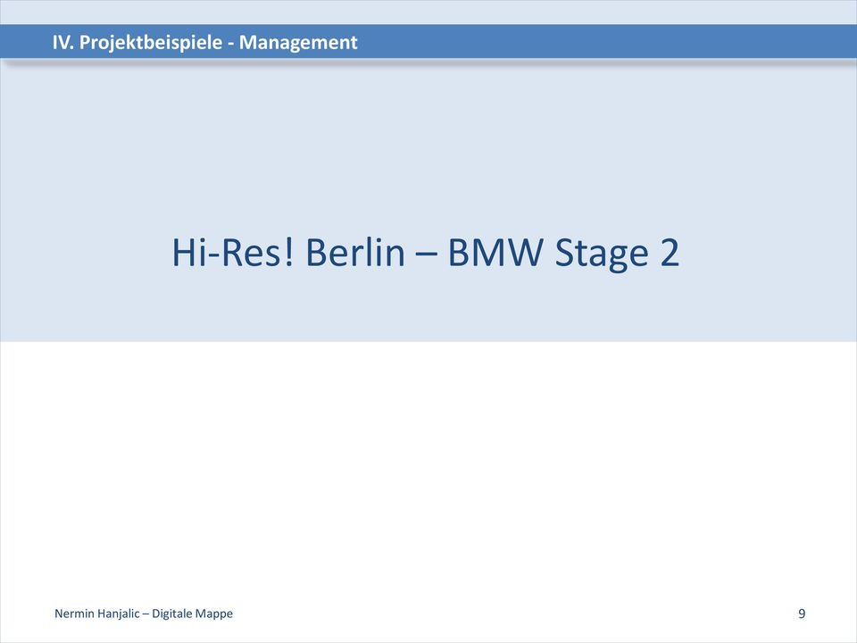 Berlin BMW Stage 2
