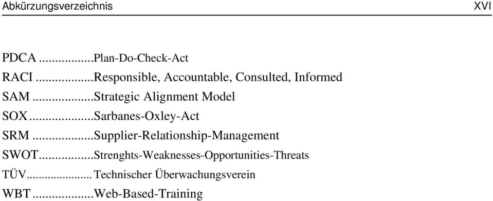 ..Strategic Alignment Model SO...Sarbanes-Oxley-Act SRM.