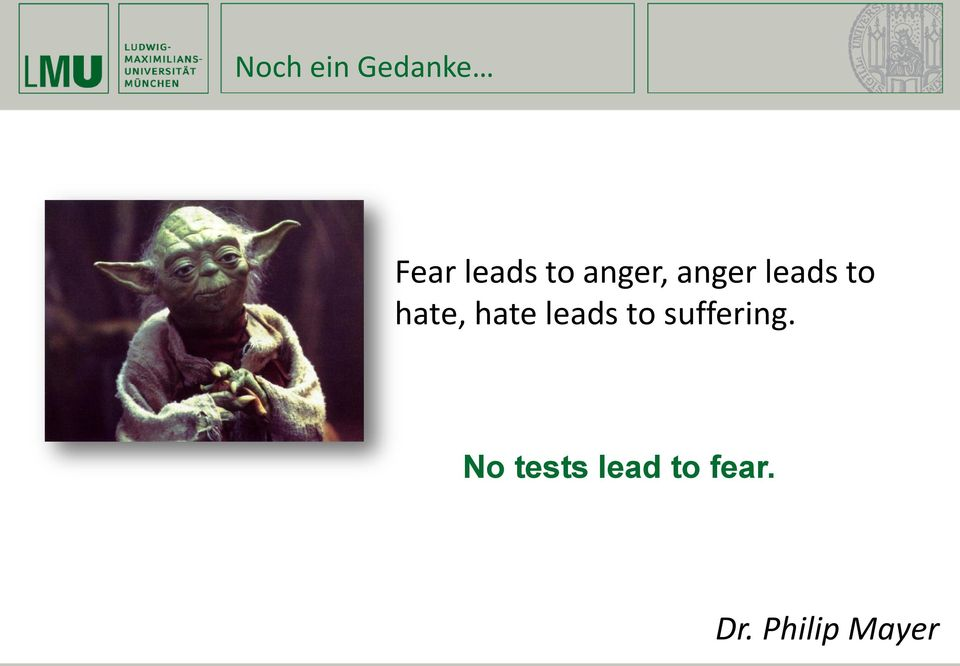 hate leads to suffering.