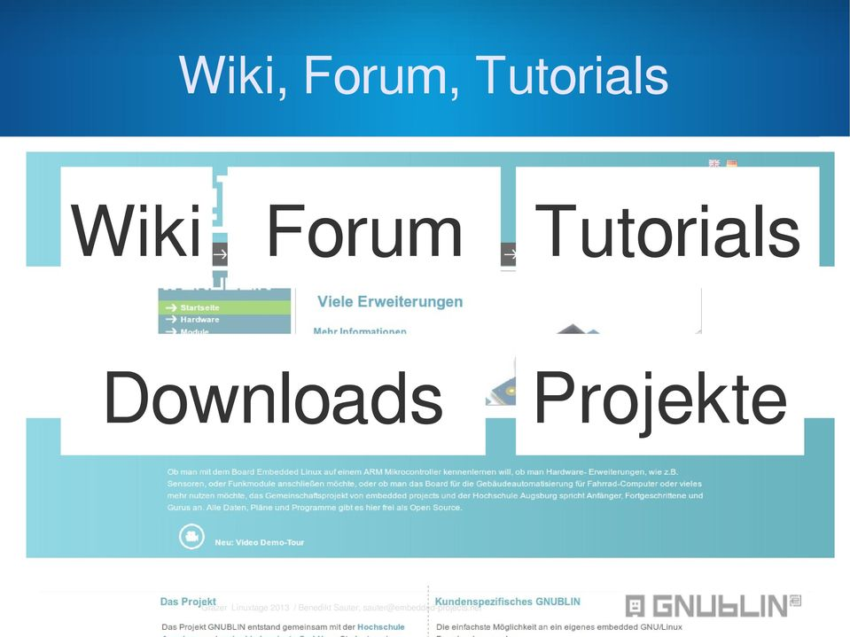 Forum Tutorials