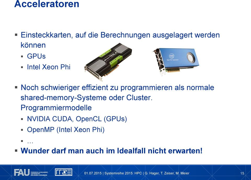 shared-memory-systeme oder Cluster.