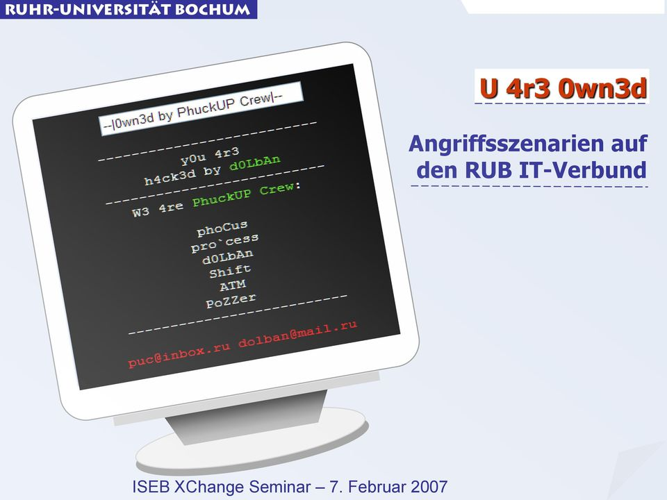 den RUB IT-Verbund