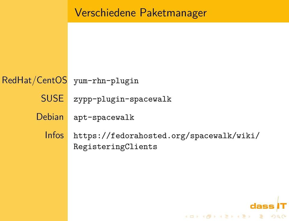 zypp-plugin-spacewalk apt-spacewalk