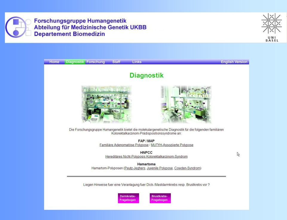 brustkrebs genetische disposition
