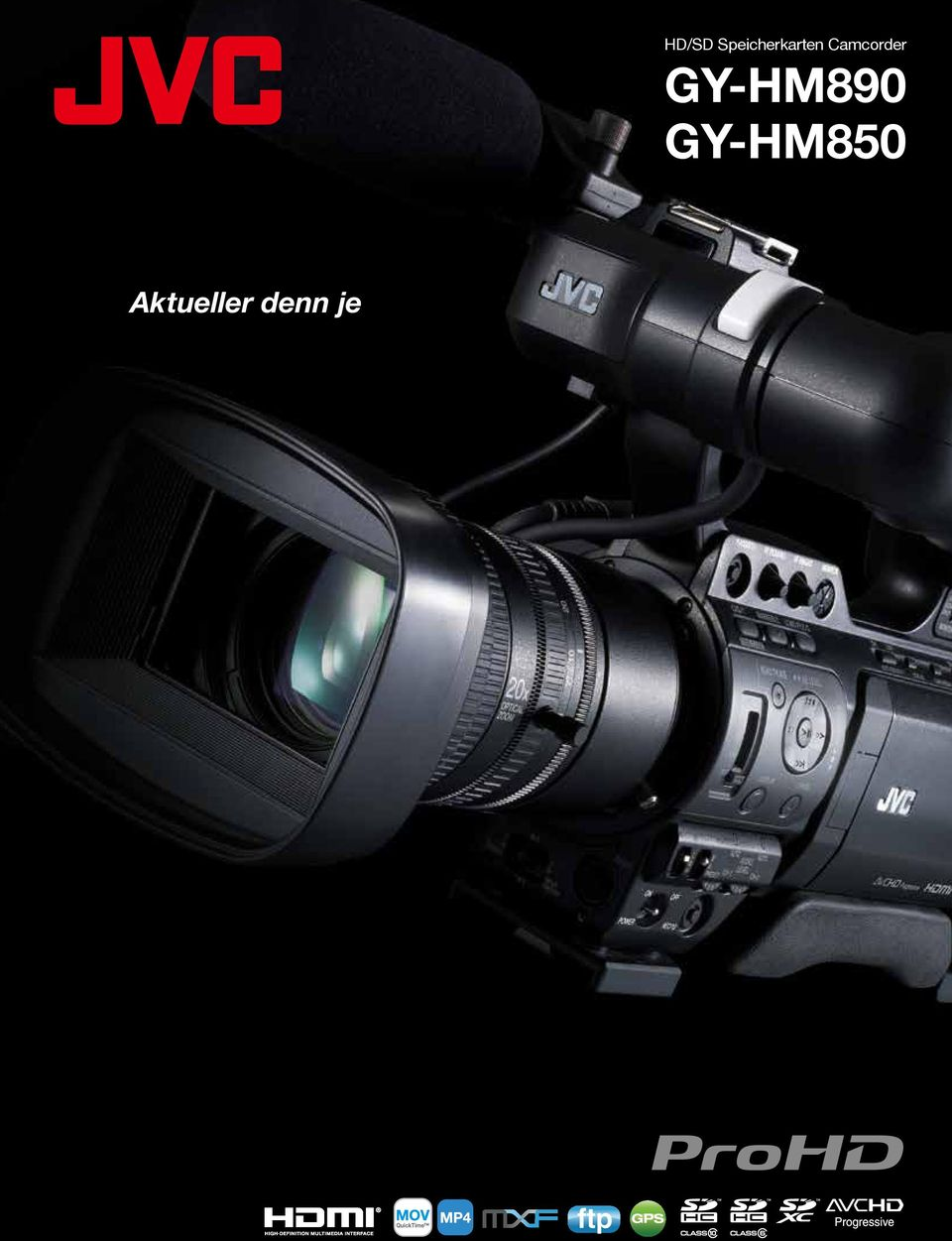 Camcorder GY-HM890