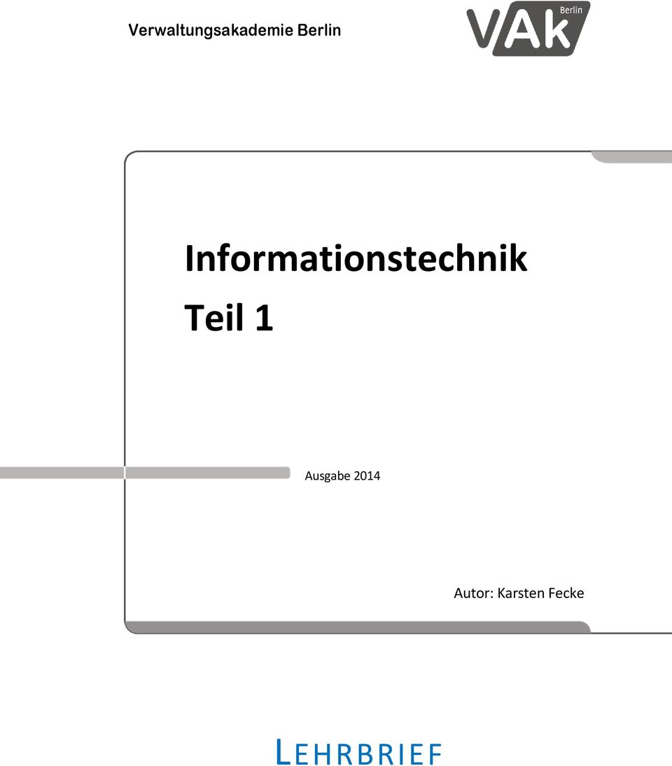 Informationstechnik Teil