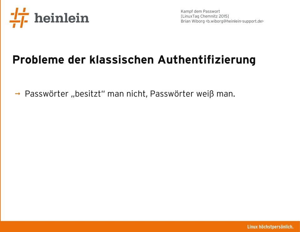 Authentifizierung