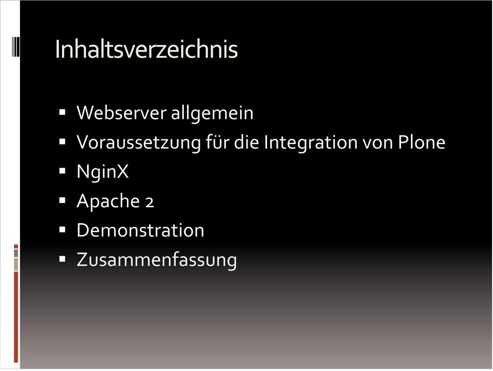 Integration von Plone