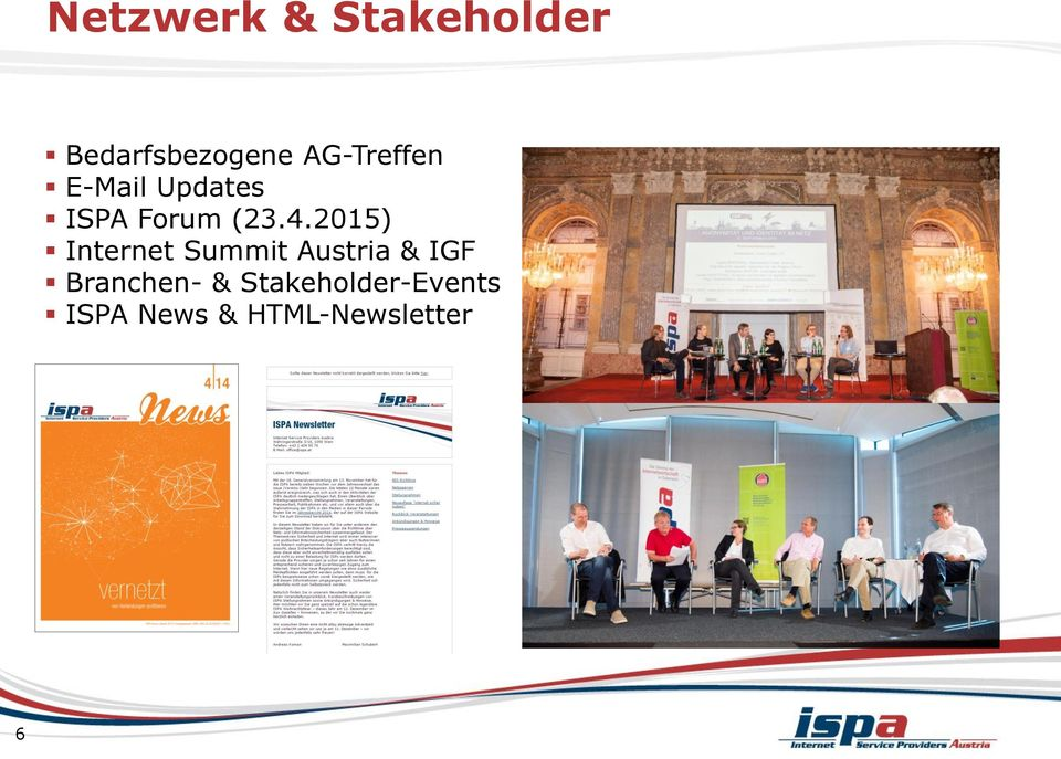 2015) Internet Summit Austria & IGF
