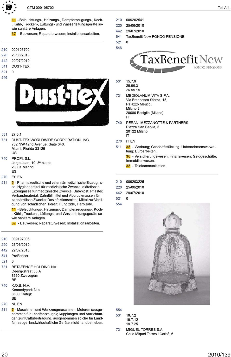WIDE CORPORATION, INC. 782 NW 42nd Avenue, Suite 34. Miami, Florida 33126 US PROPI, S.L.
