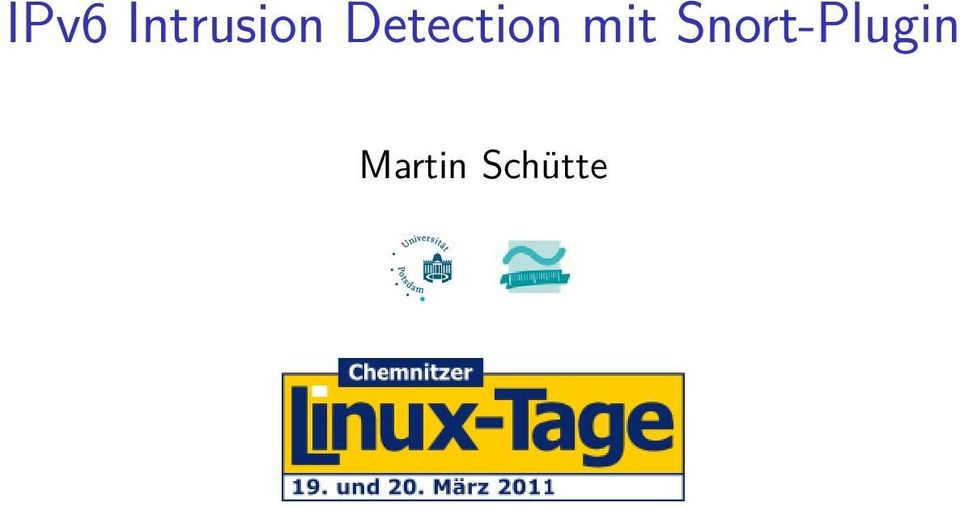 Detection mit