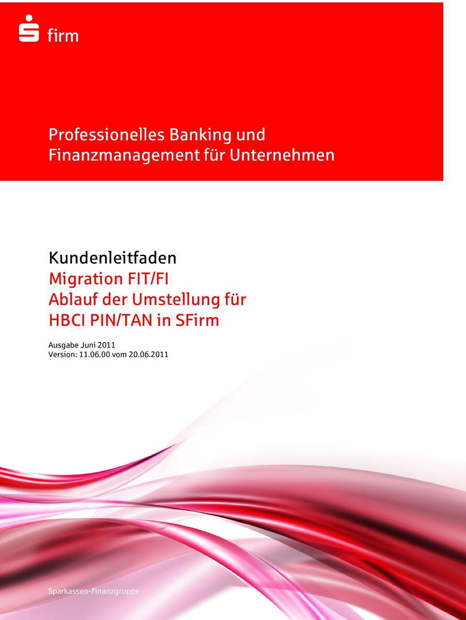 in SFirm Ausgabe Juni 2011 Version: 11.