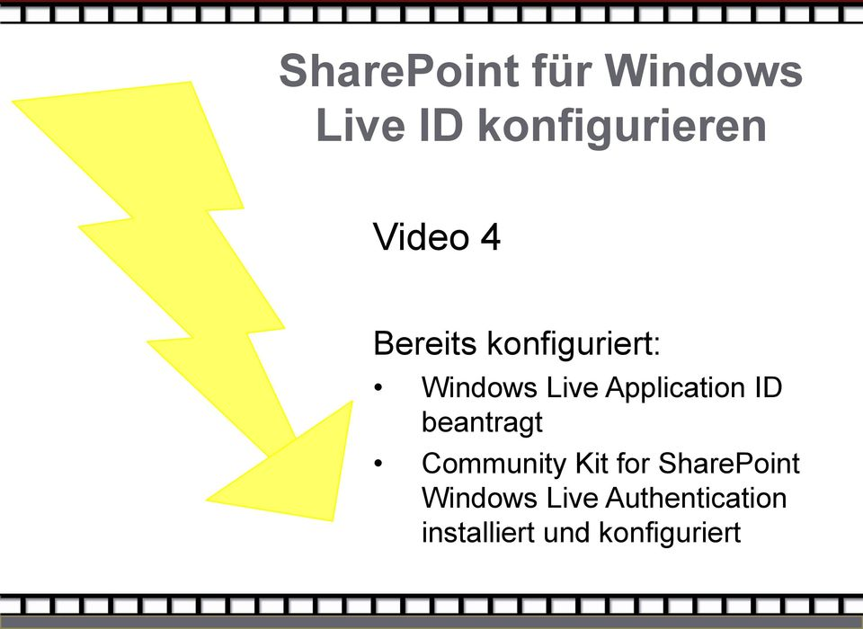 Application ID beantragt Community Kit for