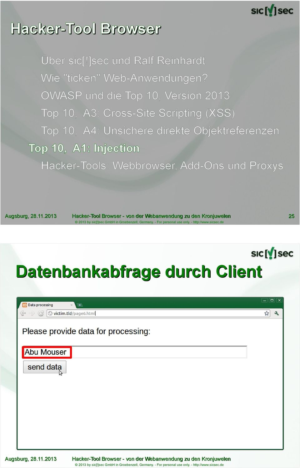 OWASP und die Top 10, Version 2013 Top 10, A3: Cross-Site Scripting (XSS)