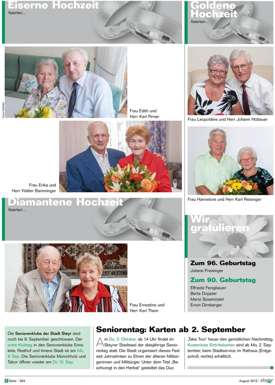 steyr senior personals The website of the international tennis federation, the world governing body of tennis - information on all aspects of tennis including players, records, rules and events such as davis cup and fed cup.