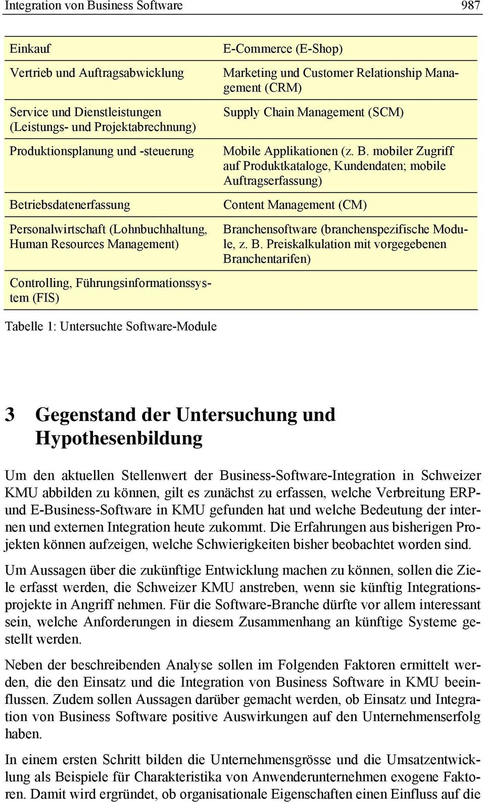 Management (SCM) Mobile Applikationen (z. B.