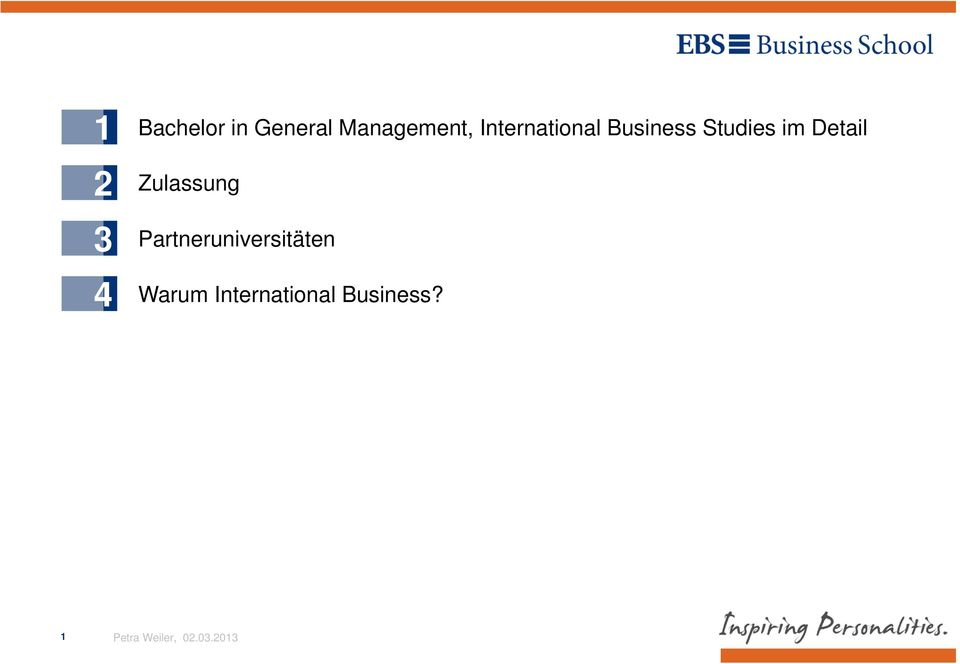 Business Studies im Detail