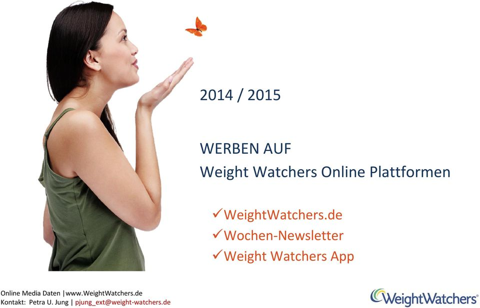 Plattformen WeightWatchers.