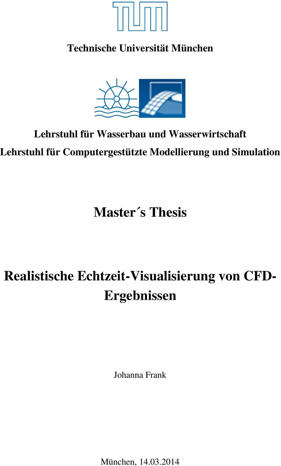 Masters CFD Thesis in Aerodynamics
