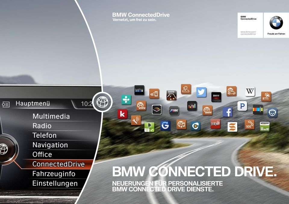 BMW CONNECTED DRIVE.