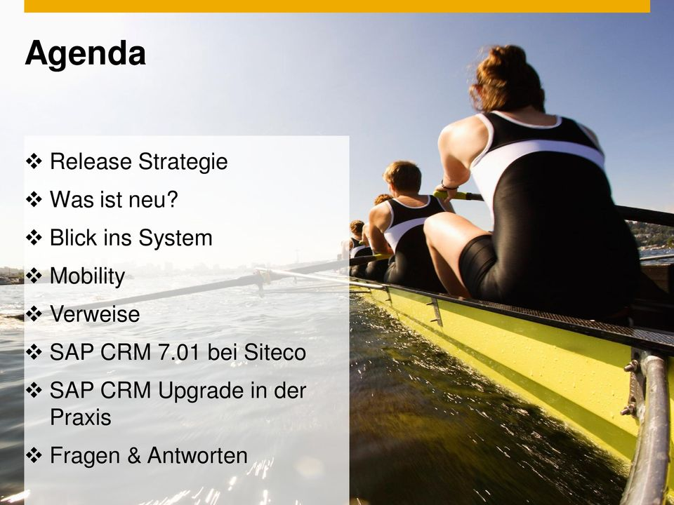 01 bei Siteco SAP CRM Upgrade in der Praxis