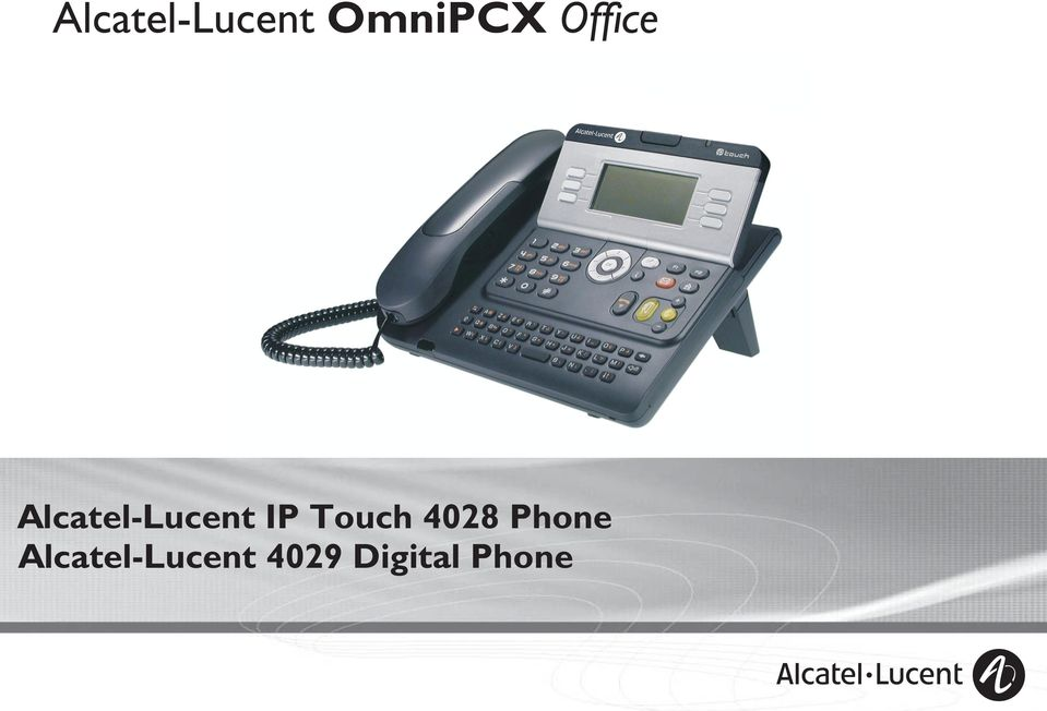 IP Touch 408 Phone